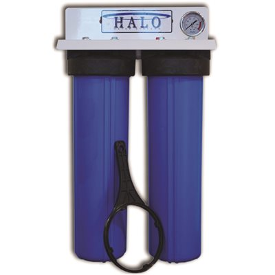 halo water systems halo 2 mini series 2 stage whole house water filtration system - Whole House Water Filtration Systems