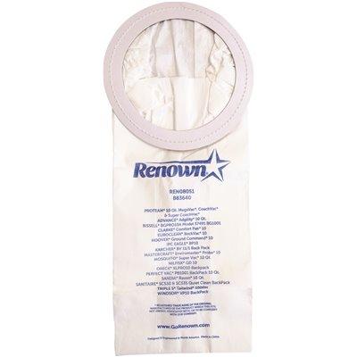 Renown Part Ren08051 Renown Vacuum Bag For Proteam Mega