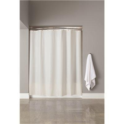 Vinyl Shower Curtain 6 Ft X 6 Ft White
