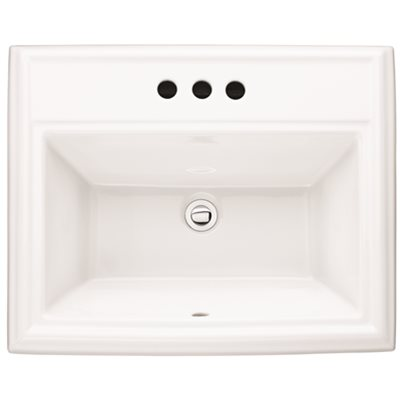 American Standard Part 0700 004 020 American Standard Town Square Self Rimming Drop In Bathroom Sink And In White Bathroom Sinks Home Depot Pro
