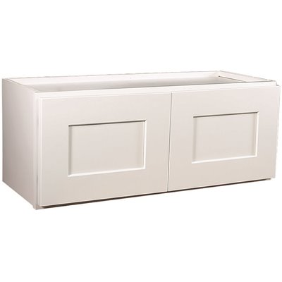 Design House Part 613471 Design House Brookings Plywood Assembled Shaker 36x18x12 In 2 Door Wall Kitchen Cabinet In White Kitchen Cabinets Home Depot Pro
