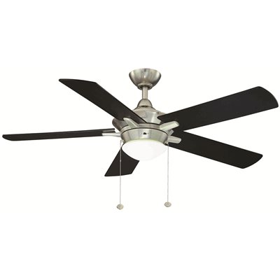 Home Decorators Collection Part Yg177iled Bn Home Decorators Collection Edgemont 52 In Indoor Brushed Nickel Ceiling Fan With Light Kit Ceiling Fans Home Depot Pro