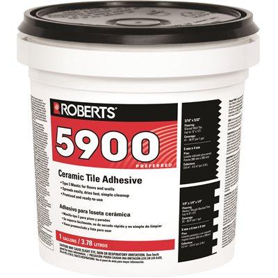 Roberts Part 59001G Roberts Ceramic Tile Adhesive 1 Gal Floor