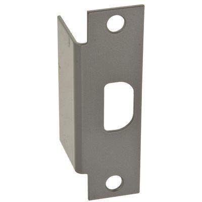 "4 7//8/"" NEW ASA Blank Lock Strike Filler Plate Kit ANSI Silver Finish"