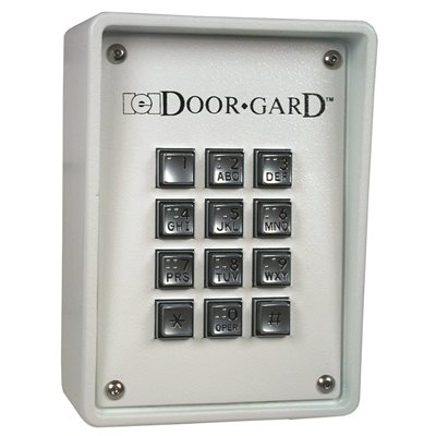door gard door gard 212i indoor style keypad for door. Black Bedroom Furniture Sets. Home Design Ideas