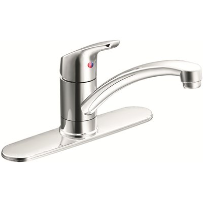Cleveland Faucet Group Part Ca42511 Cleveland Faucet Group Single Handle Kitchen Faucet In Chrome Single Handle Kitchen Faucets Home Depot Pro