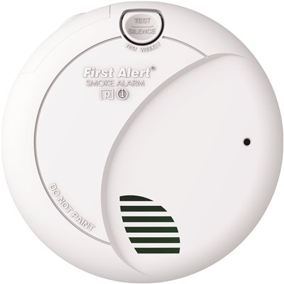 First Alert Hardwired Interconnected Smoke Alarm with Battery Backup
