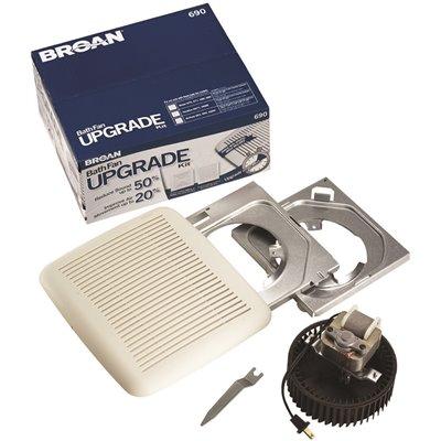 Astounding Broan Part 690 Broan 60 Cfm Bathroom Fan Upgrade Kit Download Free Architecture Designs Crovemadebymaigaardcom