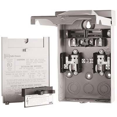 Eaton Part Dpf221r Eaton Ac Disconnect Raintight 30 Amp 2 Fusible Safety Disconnect Switches Home Depot Pro