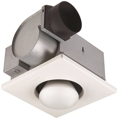 Broan Nutone Ceiling Bathroom Exhaust, Exhaust Fan And Heater For Bathroom