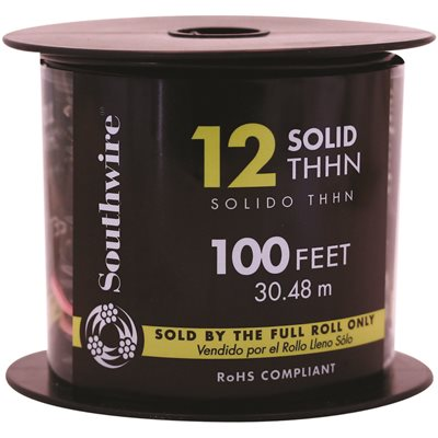 Southwire Part # 11587338 - Southwire Simpull Thhn®, 12 Gauge Thhn ...