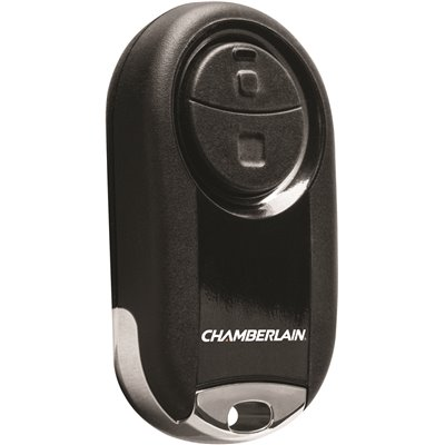 CHAMBERLAIN UNIVERSAL MINI GARAGE DOOR REMOTE, BLACK