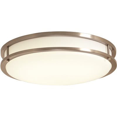 Envirolite part ev1416l30 35 envirolite led low profile ceiling envirolite led low profile ceiling fixture brushed nickel 16 in integrated mozeypictures Images