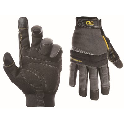 CLC HIGH DEXTERITY FLEX GRIP HANDYMAN GLOVES, LARGE
