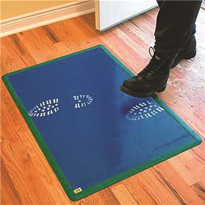 the traxx disposable tacky mat blue sticky ultimate product cleanroom mats