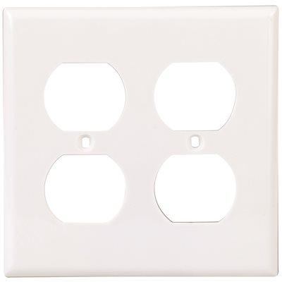 Preferred Industries Part Double Duplex Receptacle Wallplate