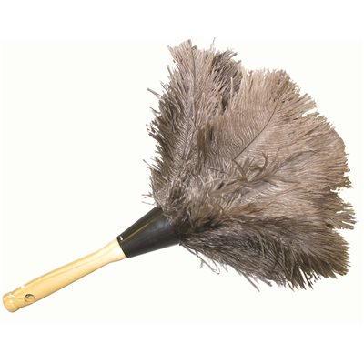 dusting tools. DUSTER FEATHER 12 INCH OSTRICH BROWN AFRICAN Dusting Tools