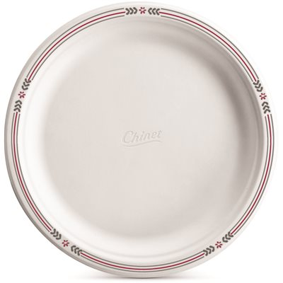 PLATE 10.5 POPLAR INCH WHITE CHINET PAPER 125/PACK  sc 1 st  SupplyWorks & Huhtamaki Food Service Inc Part # 22505 - Plate 10.5 Poplar Inch ...