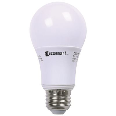 dimmable pack bulbs white light cfl watt bulb soft dp ecosmart
