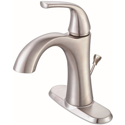 Brushed Nickel Single Hole Faucets, Single Hole Faucet For Bathroom