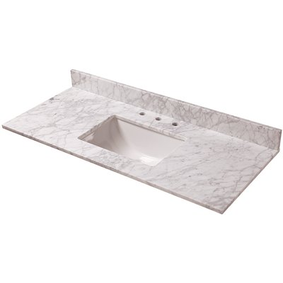 Home Decorators Collection Part 28108 Home Decorators Collection 49 In W Marble Vanity Top In Carrara Vanity Tops Home Depot Pro