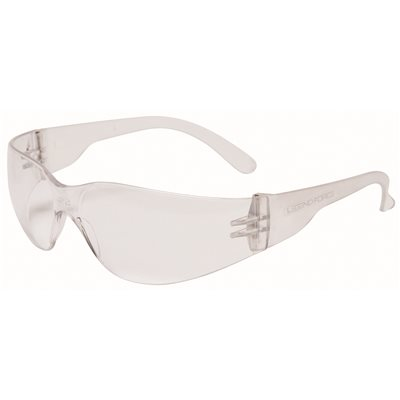 Legend Force Part Et 97 Legend Force No Frame Visitor Safety Glasses Lightweight Clear Lens Safety Glasses Home Depot Pro