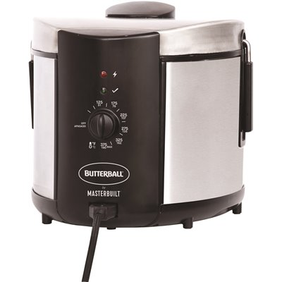 Butterball Part Mb23015018 Butterball 5 28 Qt Grey Electric Fryer Gas Fryers Home Depot Pro