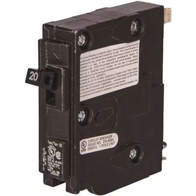Siemens Part # BQD120 - Siemens 20 Amp Single-Pole Type Bqd