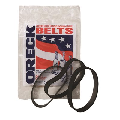 Pack of 3 Genuine Oreck Vacuum Cleaner Upright Hoover Belts