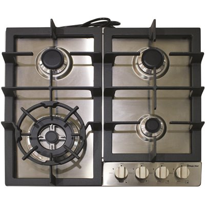 Magic Chef Part Mcsctg24s Magic Chef 24 In Gas Cooktop In Stainless Steel With 4 Burners Gas Cooktops Home Depot Pro