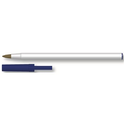 GENERIC NON-LOGO STICK PEN WITH CAP, BLACK, 500 PER CASE