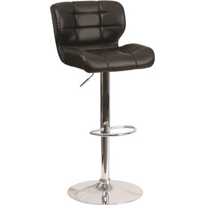 Astonishing Flash Furniture 33 In Adjustable Height Black Cushioned Bar Ibusinesslaw Wood Chair Design Ideas Ibusinesslaworg