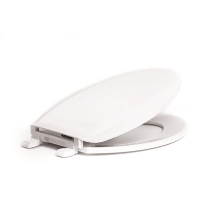 Proplus Part Ps1600 001 Proplus Elongated Closed Front Toilet Seat With Cover In White Toilet Seats Home Depot Pro