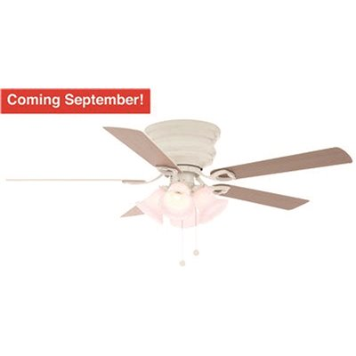 National Brand Alternative Part Sw1480wh Clarkston 52 In Indoor White Ceiling Fan With Light Kit With White Washed Oak Blades Ceiling Fans Home Depot Pro