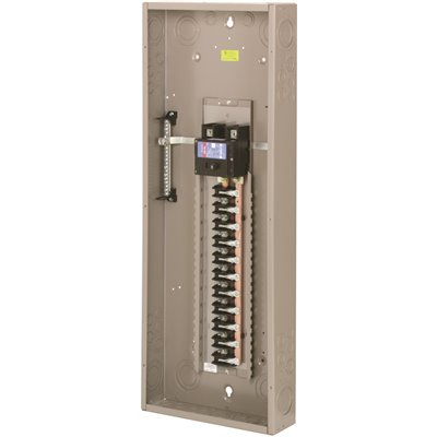 Square D Indoor Main Breaker 200 Amp 42-Space 1-Phase Neutral Load Center Cover