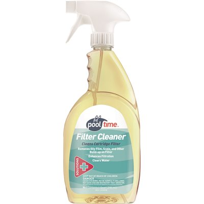 Pool Time Part 23705ptm Pool Time 32 Oz Filter Cleaner Pool Testing Home Depot Pro
