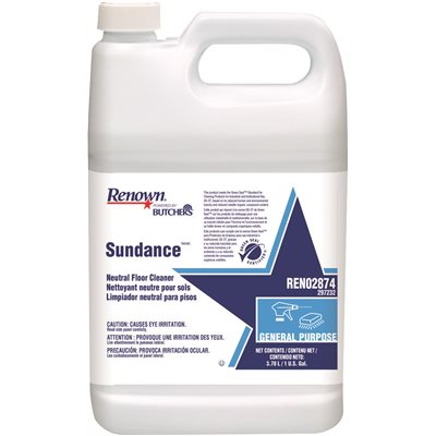 RENOWN® POWERED BY BUTCHERS® SUNDANCE NEUTRAL FLOOR CLEANER GALLON