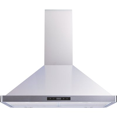 Winflo Part Wr003b30 Winflo 30 In 520 Cfm Convertible Wall Mount Range Hood In Stainless Steel With Mesh Filters And Touch Sensor Control Vented Range Hoods Home Depot Pro