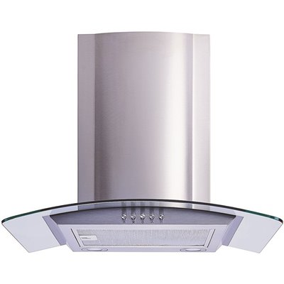 Winflo Part Wr001c30 Winflo 30 In Convertible Glass Wall Mount Range Hood In Stainless Steel With Mesh Filters And Push Button Control Vented Range Hoods Home Depot Pro