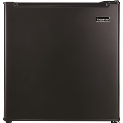 Magic Chef Part Mcar170be Magic Chef 1 7 Cu Ft Mini Fridge In Black With Freezerless Design Compact Refrigerators Home Depot Pro Stores perishables comfortably in the fridge compartment. wilmar