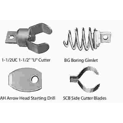 General Wire Spring Part # MRCS - Mini-Rooter Cutter Set For