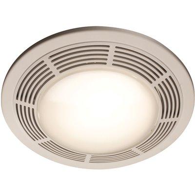 Broan Nutone 100 Cfm Ceiling Bathroom, Nutone Bathroom Exhaust Fan With Light