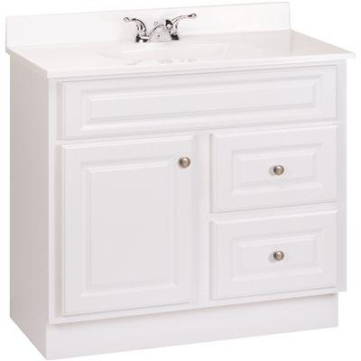 Design House Wyndham Bathroom Vanity Cabinet Ready To