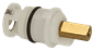 CARTRIDGE FOR 2-HANDLE FAUCETS BRASS STEM