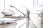 Premier Westlake Single-Handle Kitchen Faucet in Chrome