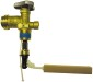 Cavagna 4 in. Type 1 ACME 20 lb. Cylinder Valve with Overfill Prevention Device