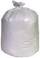 Berry Plastics 33 Gal. 1.3 mil 33 in. x 39 in. White Low-Density Trash Bags (25 per Roll, 4-Rolls per Case)