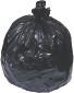 Berry Plastics 32 Gal. 2 mil 33 in. x 48 in. Black Low-Density Trash Bags (20 per Roll, 5-Rolls per Case)