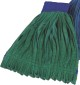 IMPACT PRODUCTS Microfiber String Mop Head Medium Canvas Headband Tube in Green