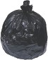 Berry Plastics 7 Gal. 0.3 mil 20 in. x 21 in. Black Low-Density Trash Bags (50-Roll, 20-Rolls/Case)
